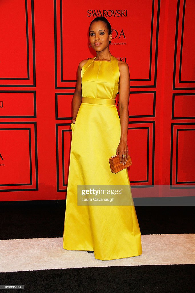<a gi-track='captionPersonalityLinkClicked' href=/galleries/search?phrase=Kerry+Washington&family=editorial&specificpeople=201534 ng-click='$event.stopPropagation()'>Kerry Washington</a> attends the 2013 CFDA Fashion Awardson June 3, 2013 in New York, United States.