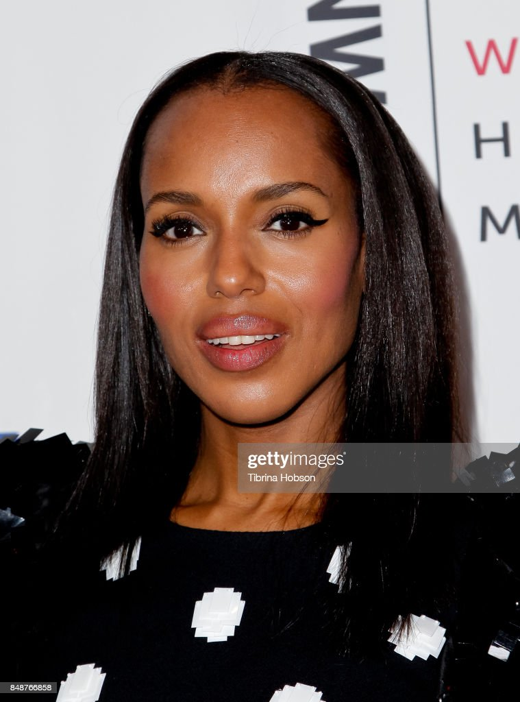 Kerry Washington attends the 6th Annual Women Making History Awards at The Beverly Hilton Hotel on September 16, 2017 in Beverly Hills, California.