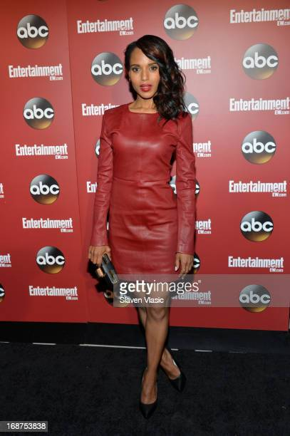Kerry Washington attends the Entertainment Weekly ABCTV Upfronts Party at The General on May 14 2013 in New York City