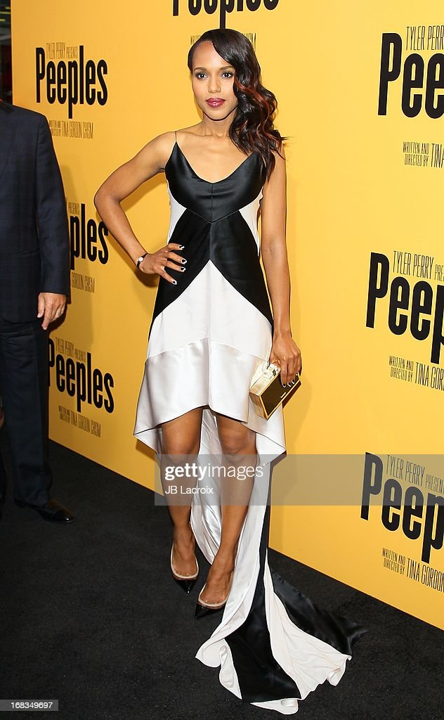Kerry Washington attends the 'Peeples' Premiere held at ArcLight Hollywood on May 8, 2013 in Hollywood, California.