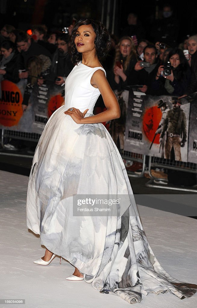 <a gi-track='captionPersonalityLinkClicked' href=/galleries/search?phrase=Kerry+Washington&family=editorial&specificpeople=201534 ng-click='$event.stopPropagation()'>Kerry Washington</a> attends the UK Premiere of 'Django Unchained' at Empire Leicester Square on January 10, 2013 in London, England.