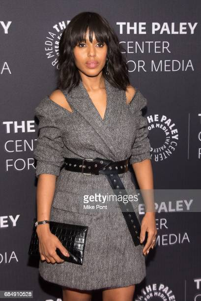 Kerry Washington attends The Ultimate 'Scandal' Watch Party at The Paley Center for Media on May 18 2017 in New York City