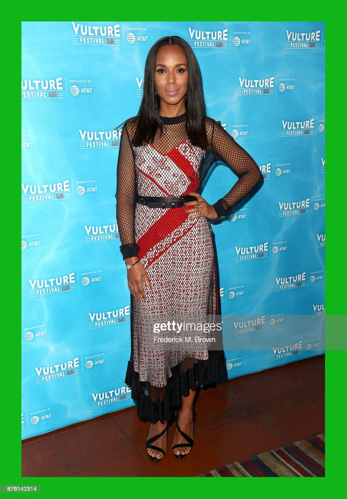 Kerry Washington attends Vulture Festival Los Angeles at Hollywood Roosevelt Hotel on November 18, 2017 in Hollywood, California.