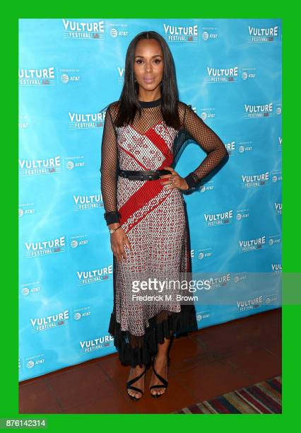 Kerry Washington attends Vulture Festival Los Angeles at Hollywood Roosevelt Hotel on November 18 2017 in Hollywood California
