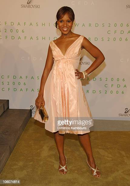 Kerry Washington during 2006 CFDA Awards Arrivals at New York Public Library in New York City New York United States