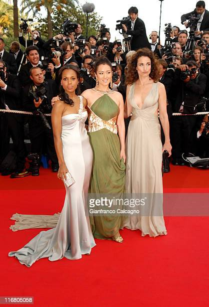 Kerry Washington Michelle Yeoh and Andie MacDowell