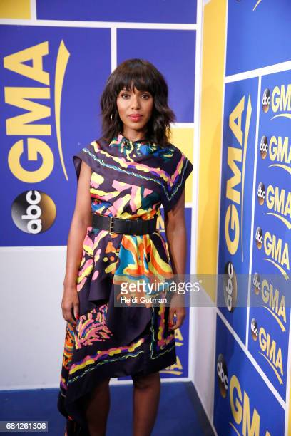 AMERICA Kerry Washington of ABC's 'Scandal' is a guest on 'Good Morning America' Wednesday May 17 2017 on the ABC Television Network KERRY