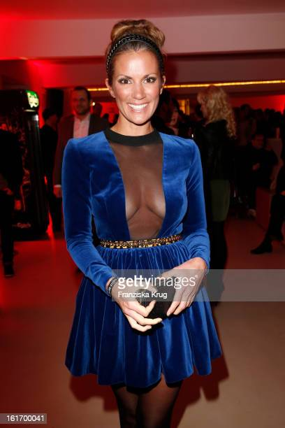 Kerstin Linnartz attends the 5th '99FireFilmsAward' Red Carpet Arrivals at the Admiralspalast on February 14 2013 in Berlin Germany