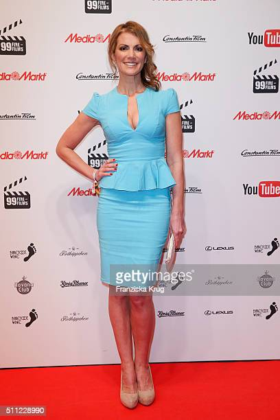 Kerstin Linnartz attends the 99FireFilmAward 2016 at Admiralspalast on February 18 2016 in Berlin Germany