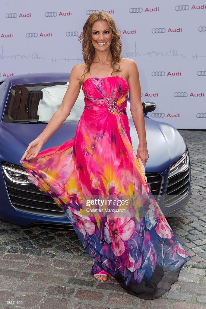 Kerstin Linnartz attends the Audi Classic Open Air at Kulturbrauerei on August 13 2014 in Berlin Germany