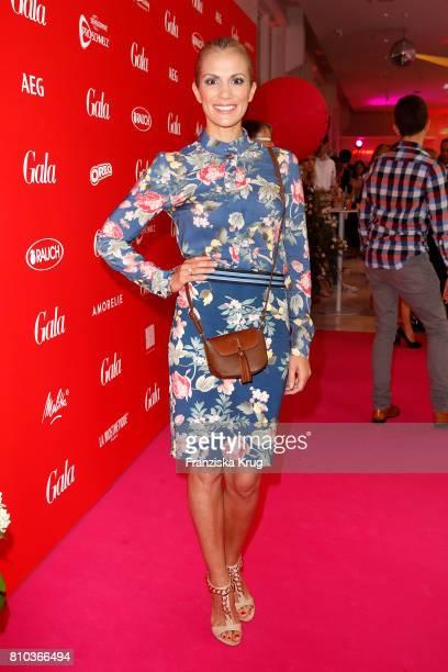 Kerstin Linnartz attends the Gala Fashion Brunch during the MercedesBenz Fashion Week Berlin Spring/Summer 2018 at Ellington Hotel on July 7 2017 in...