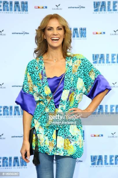 Kerstin Linnartz attends the German premiere of the 'Valerian Die Stadt der Tausend Planeten' at CineStar on July 19 2017 in Berlin Germany
