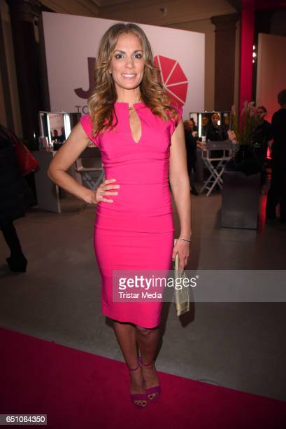 Kerstin Linnartz attends the JT Touristik Pink Carpet party at Hotel De Rome on March 9 2017 in Berlin Germany