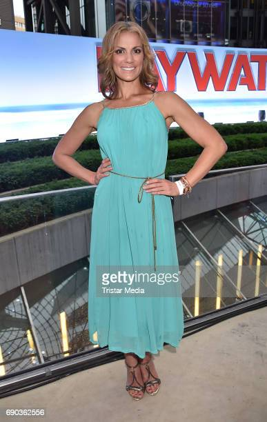 Kerstin Linnartz during the Baywatch European Premiere Party on May 31 2017 in Berlin Germany