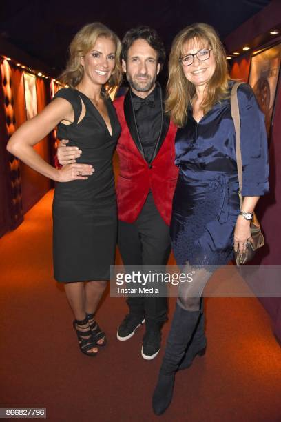 Kerstin Linnartz Falk Willy Wild and Maren Gilzer attend the 7th Diabetes Charity Gala at TIPI am Kanzleramt on October 26 2017 in Berlin Germany