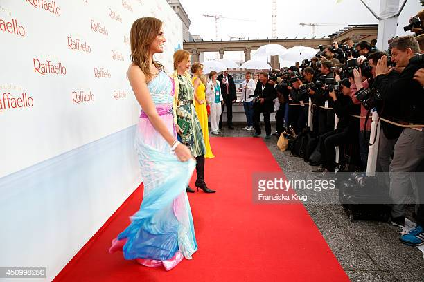 Kerstin Linnartz Katja Flint and Mareile Hoeppner attend the Raffaello Summer Day 2014 on June 21 2014 in Berlin Germany