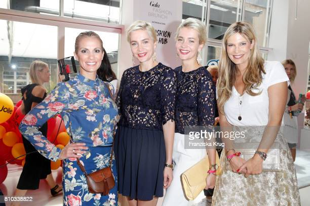 Kerstin Linnartz Nina Meise Julia Meise and Verena Wriedt attend the Gala Fashion Brunch during the MercedesBenz Fashion Week Berlin Spring/Summer...