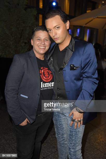 Kerstin Ott and Julian F M Stoeckel during the Alcatel Entertainment Night feat Music Meets Media at Sheraton Berlin Grand Hotel Esplanade on...