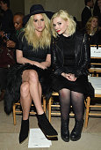 Kesha and Abigail Breslin attends Front Row Backstage MercedesBenz Fashion Week Fall 2015 at Vanderbilt Hall at Grand Central Terminal on February 16...
