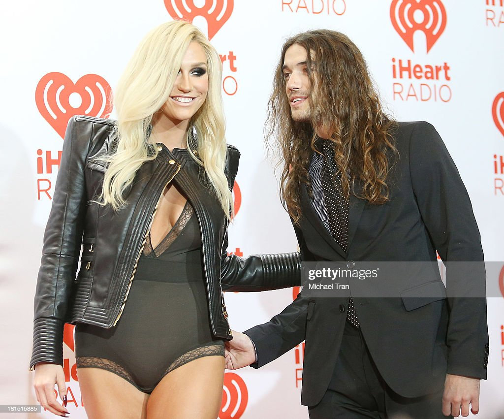 Kesha and her boyfriend, Harold arrive at the iHeartRadio Music Festival - press room - Day 2 held on September 21, 2013 in Las Vegas, Nevada.