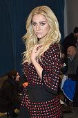 Kesha attends Adam Selman Fashion Show at MercedesBenz Fashion Week Fall 2015 on February 13 2015 in New York City