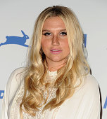 Kesha attends PETA's 35th anniversary party at Hollywood Palladium on September 30 2015 in Los Angeles California