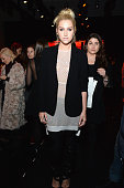 Kesha attends the Diane Von Furstenberg fashion show during MercedesBenz Fashion Week Fall 2015 at Spring Studios on February 15 2015 in New York City