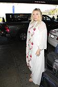 Kesha is seen at LAX on December 16 2015 in Los Angeles California