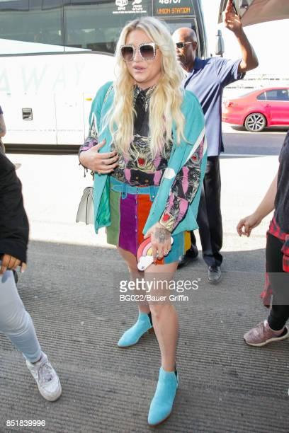 Kesha is seen on September 22 2017 in Los Angeles California