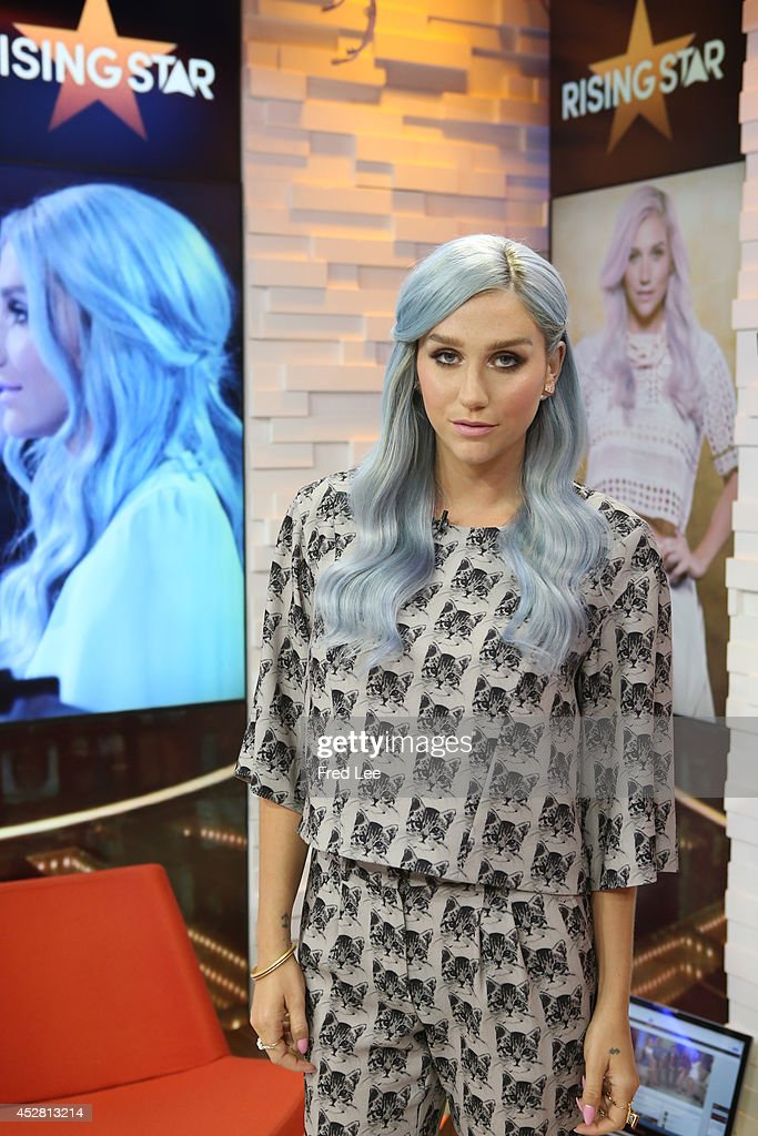 AMERICA Kesha of ABC's 'Rising Star' is a guest on 'Good Morning America' 7/24/14 airing on the ABC Television Network