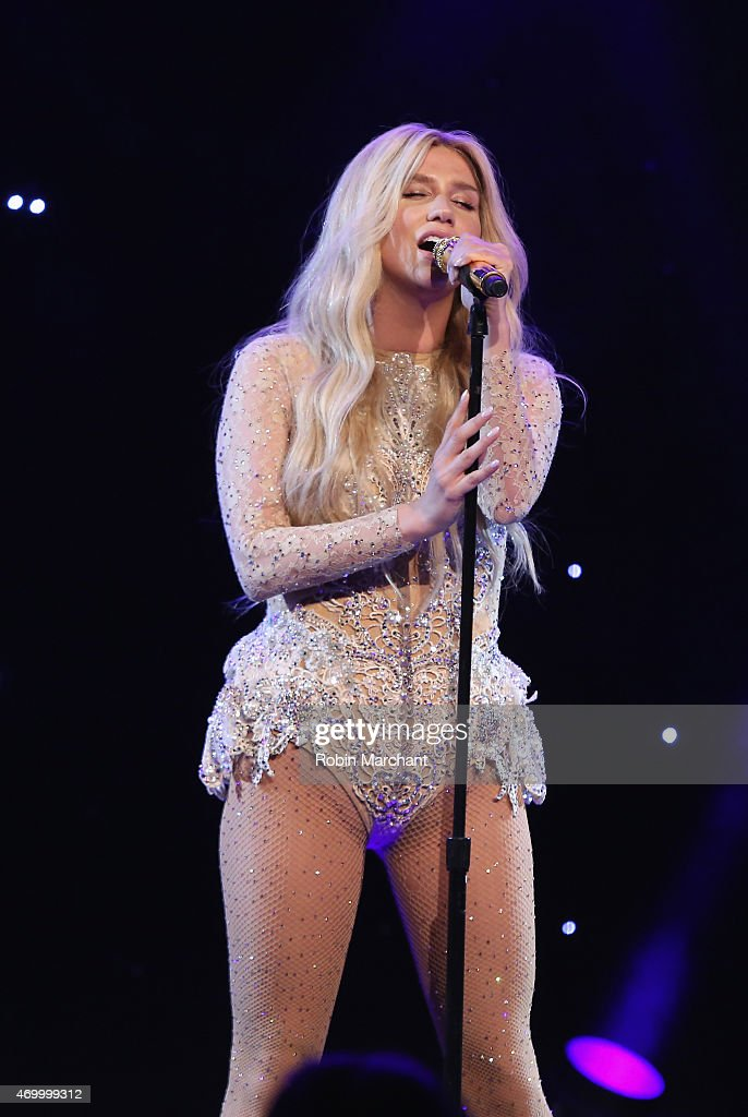 Kesha performs at the 9th Annual Delete Blood Cancer Gala on April 16 2015 in New York City