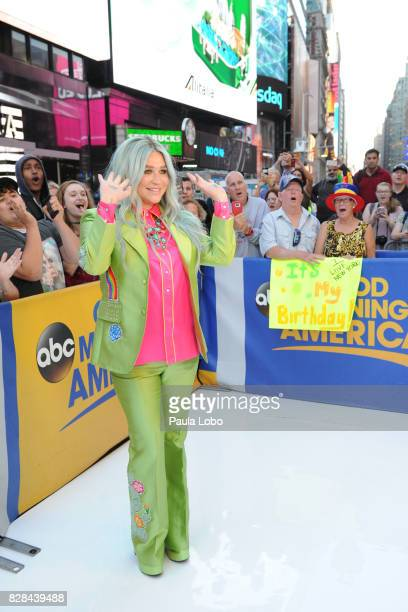 AMERICA Kesha performs live on 'Good Morning America' Wednesday August 9 airing on the ABC Television Network KESHA