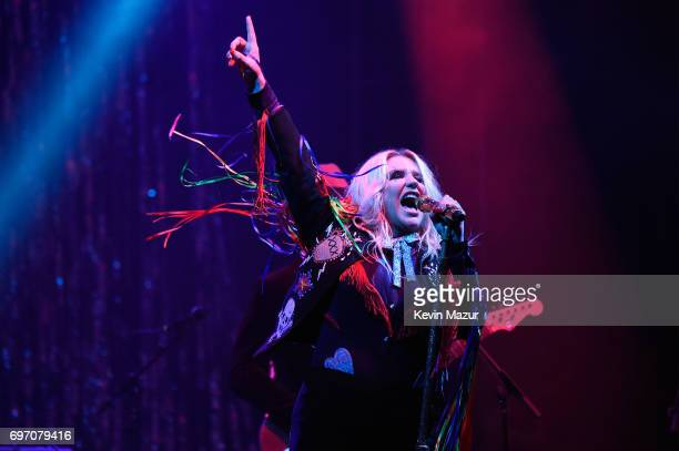 Kesha performs onstage during the 2017 Firefly Music Festival on June 17 2017 in Dover Delaware