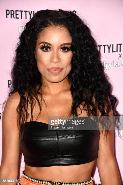 Keshia Chante attends PrettyLittleThing X Olivia Culpo Launch at Liaison Lounge on August 17 2017 in Los Angeles California