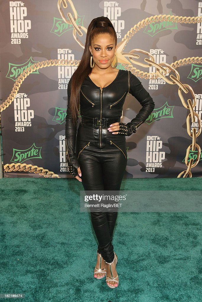 Keshia Chante attends the BET Hip Hop Awards 2013 at Boisfeuillet Jones Atlanta Civic Center on September 28, 2013 in Atlanta, Georgia.