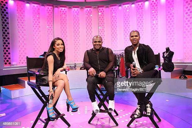 Keshia Chante Derek J and Lawrence Washington attend 106 Park at BET studio on May 12 2014 in New York City