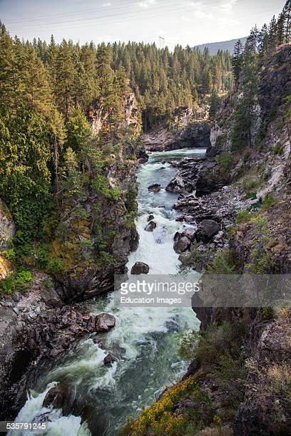Kettle River near USA/ Canada Border British Columbia Canada