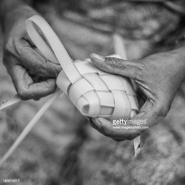 Ketupat Making