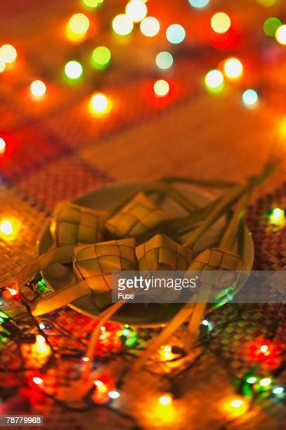 Ketupats and String Lights