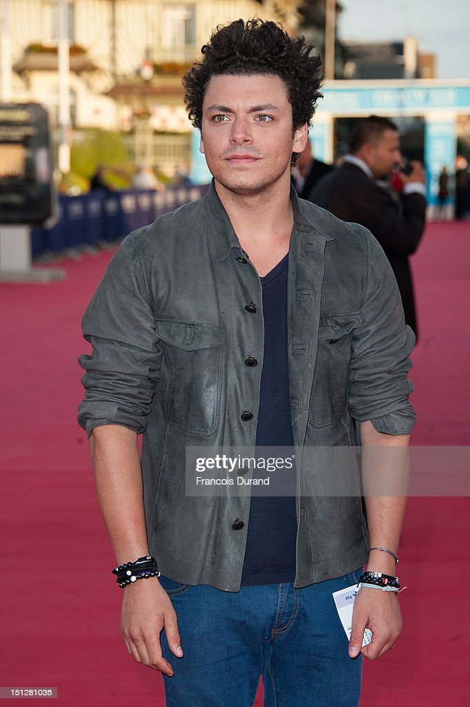 Kev Adams arrives at the 'Lawless' Premiere during the 38th Deauville American Film Festival on September 5, 2012 in Deauville, France.