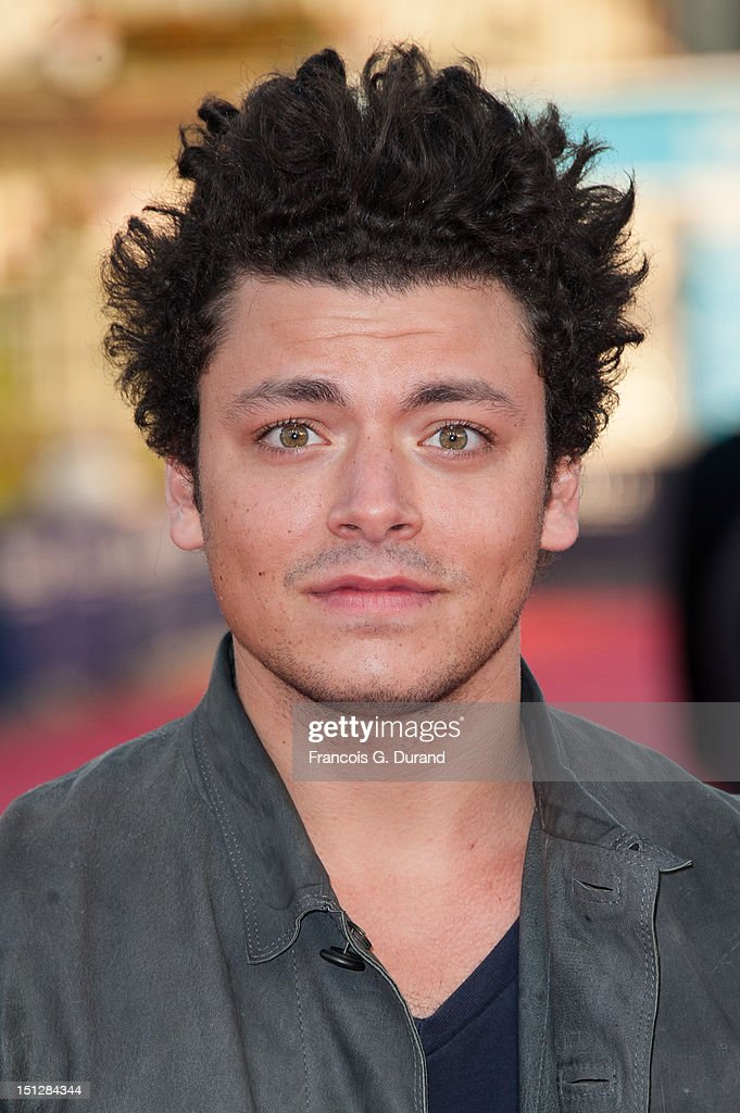 <a gi-track='captionPersonalityLinkClicked' href=/galleries/search?phrase=Kev+Adams&family=editorial&specificpeople=8192242 ng-click='$event.stopPropagation()'>Kev Adams</a> arrives at the 'Lawless' Premiere during the 38th Deauville American Film Festival on September 5, 2012 in Deauville, France.