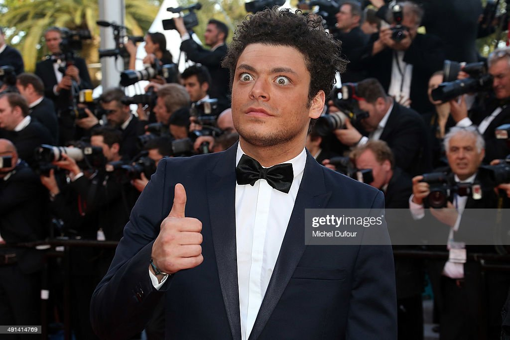 <a gi-track='captionPersonalityLinkClicked' href=/galleries/search?phrase=Kev+Adams&family=editorial&specificpeople=8192242 ng-click='$event.stopPropagation()'>Kev Adams</a> attends the Premiere of 'How To Train Your Dragon 2' at the 67th Annual Cannes Film Festival on May 16, 2014 in Cannes, France.