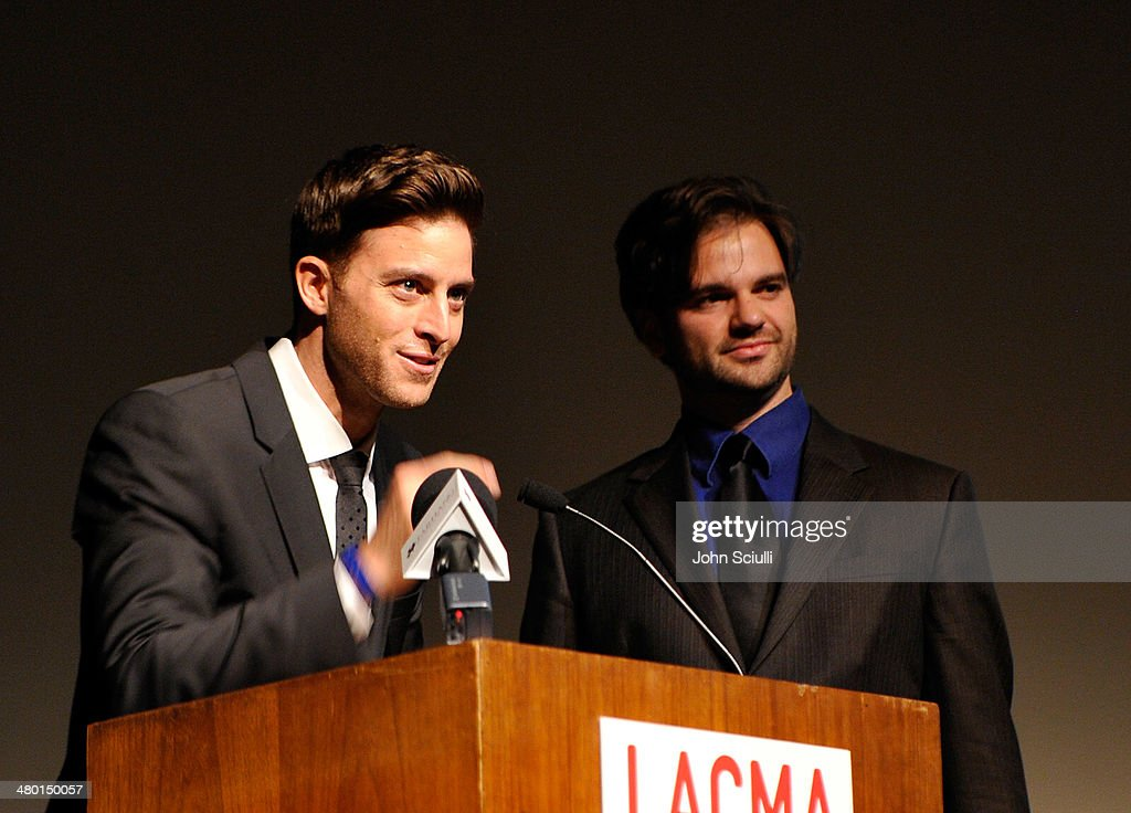 Kevan Moezzi and Steven Gute attend the 6th Annual Farhang Foundation's Short Film Festival award ceremony and reception at LACMA on March 22, 2014 in Los Angeles, California.