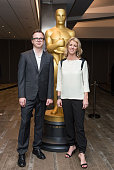 Keven McAlester and Rory Kennedy arrive at the 87th Annual Academy Awards Oscar Week Celebrates Documentaries at Samuel Goldwyn Theater on February...