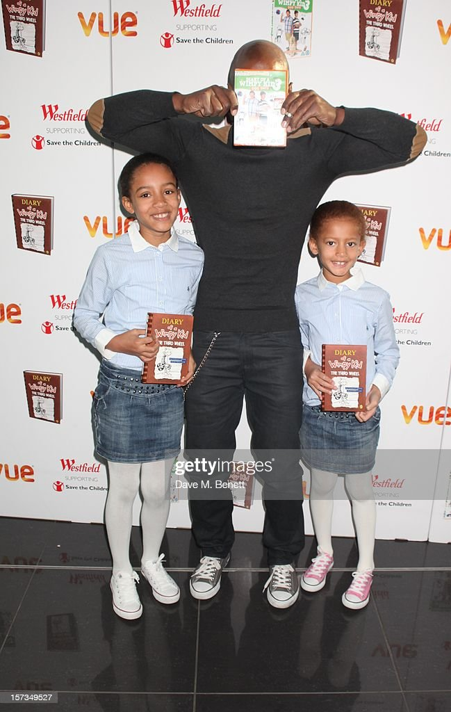 Kevin Adams attends 'Diary of a Wimpy Kid' UK dvd Premiere at Vue Westfield on December 02, 2012 in London, England.