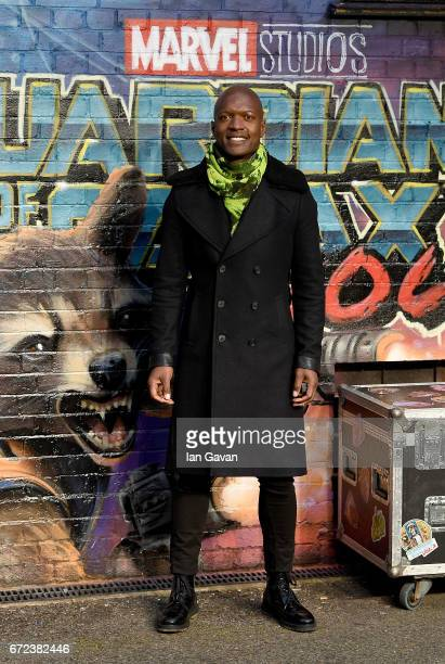 Kevin Adams attends the European launch event of Marvel Studios' 'Guardians of the Galaxy Vol 2' at the Eventim Apollo on April 24 2017 in London...