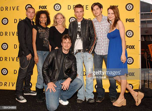 Kevin Alejandro Rochelle Aytes Kristin Lehman Riley Smith JD Pardo Mircea Monroe and Nathan Fillion