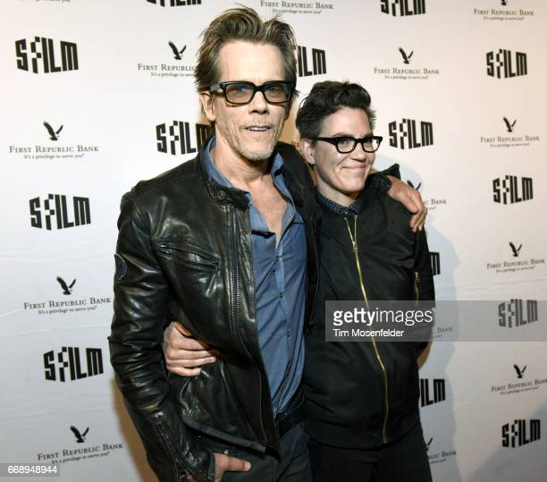 Kevin Bacon and director Sarah Gubbins attend the screening of 'I Love Dick' during the San Francisco International Film Festival 2017 at Alamo...