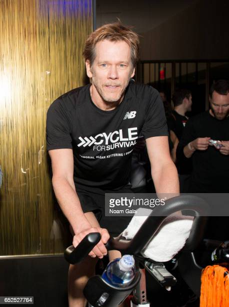 Kevin Bacon attends Cycle For Survival at Equinox Bryant Park on March 12 2017 in New York City
