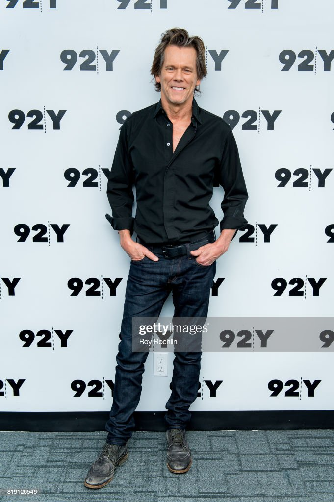 Kevin Bacon attends In Conversation at 92nd Street Y on July 19, 2017 in New York City.